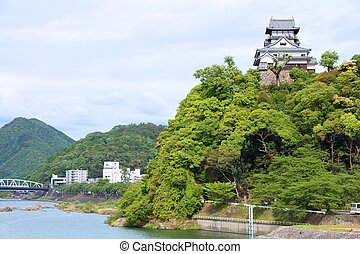 Inuyama, Japan - town in Aichi prefeture of the region Chubu...