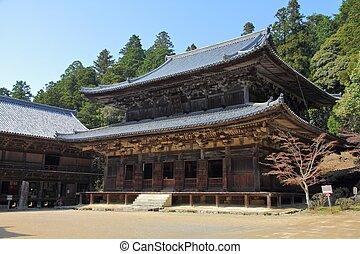 Himeji, Japan Kansai region Famous Mt Shosha temple -...