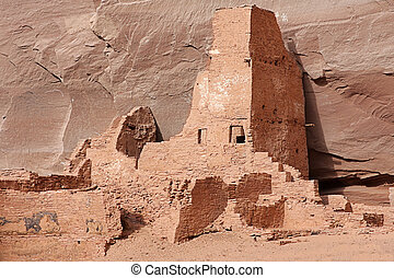 Antelope Ruins in Canyon de Celly - Ancient Anasazi Antelope...