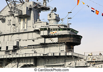 The Intrepid Museum in Manhattan is ready for the grand...