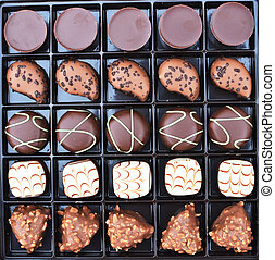 Chocolate in the box