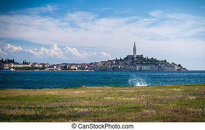 Rovinj - Rovinj old town in Croatia, Adriatic coast, Istra...