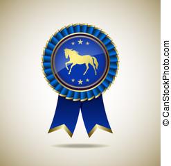 Award rosette - Award Rosette - Ribbon Icon - EPS10