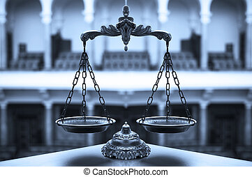 decorativo, escalas, Justicia