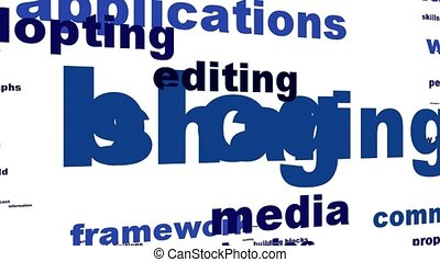 Blog message conceptual design