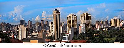 Sorocaba,Brazil - SOROCABA, BRAZIL - JANUARY 17: Downtown...