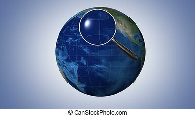 Global search, seamless looped 3d animation with an...