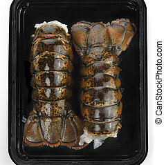 Raw Lobster Tails