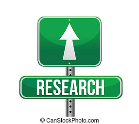 research road sign