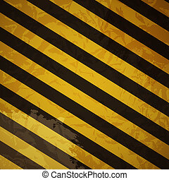Grunge striped cunstruction background vector illustration