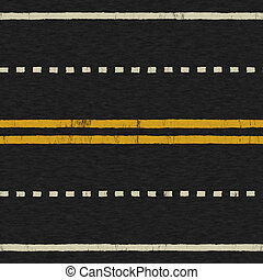 Seamless Road Background Texture - A Seamless Painted...