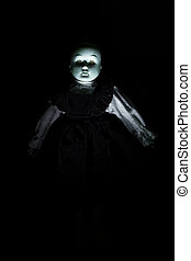 Haunting Childs Doll Figure - Haunting childs doll figure...