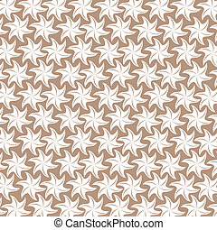 abstract star in brown background