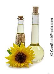 Sunflower Oil in Bottles