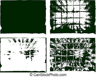 backgrounds gbc dg - collection of 4 grunge background...