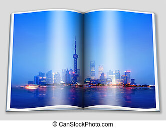 The Bund in Shanghai - Illustrated opened the metropolis of...