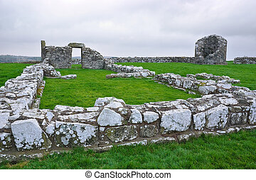 Nendrum Monastic Site - The ruins of the early Celtic...