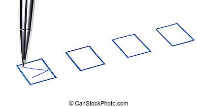 carrapato, azul, quadrado, caixa