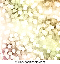 Holiday Background - Abstract Bokeh Bright Holiday...