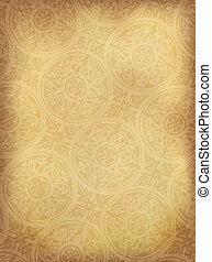 Vintage ornamented background vertical Vector, EPS10