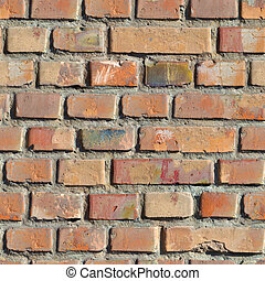 Brick Wall Seamless Texture - Brick Wall Seamless Tileable...