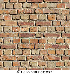 Brick Wall. Seamless Texture. - Brick Wall. Seamless...