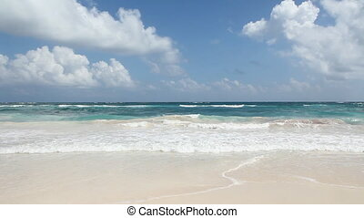 Perfect beach.  - Beautiful beach. Tulum, Mexico.