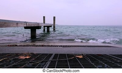 Lake Geneva Waves
