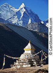 Stupa in Himalaya - stupa
