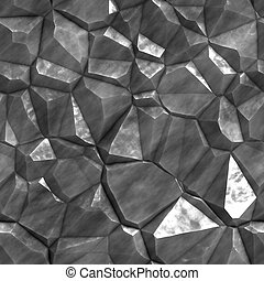 Stone Texture - A rough and jagged stone texture that tiles...