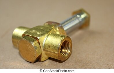 solenoid valve - A solenoid valve used in the engineering...