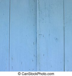 Blue wall - Blue wooden wall
