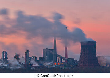 pipes and polluting smoke-3