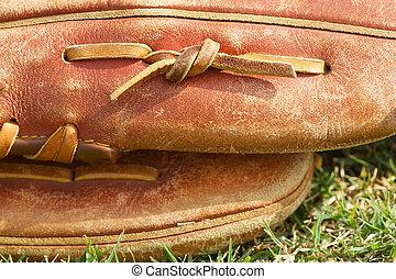 Baseball Glove Close Up