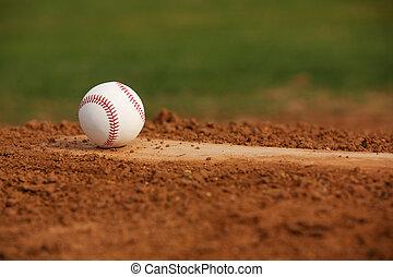 beisball, jarras, montón