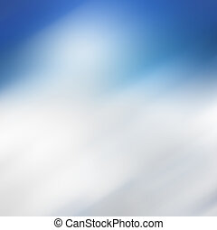 Bright blue bokeh background