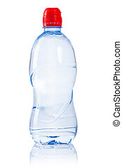 a small bottle of water