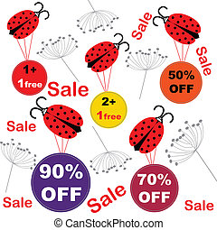 Sale for spring