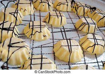 Gourmet desserts at a banquet