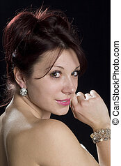 Natural beauty women portrait