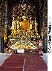 buddha statue no 55 /1 - Ancient Buddha image enshrined in...