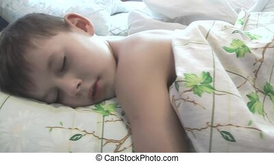 baby sleeps in a serene atmosphere,