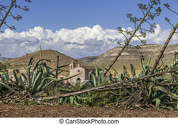 Cortijo Los Frailes - It is an abandoned farmhouse with a...
