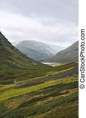 Glencoe, Highlands of Scotland - Glencoe in the Highlands of...