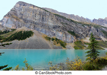 Lake Louise and Fairview Mountain - Lake Louise in front of...
