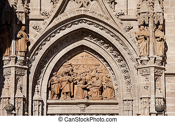 Adoration of the Three Wise Men Relief - Relief from 1520...