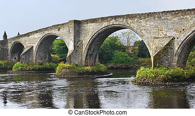 Old Bridge at Stirling, Scotland