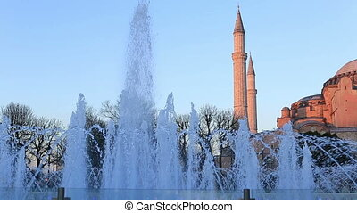 Hagia Sophia at Istanbul Turkey