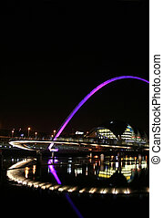 Millenium Bridge - Newcastle - Millenium Bridge and Sage...