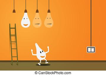 Energy concept vector design